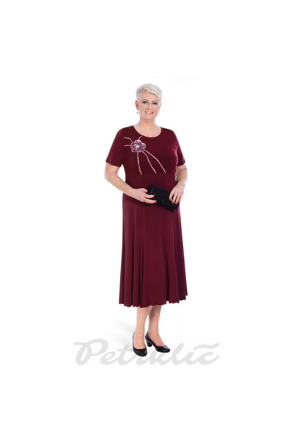 KATY - šaty krátký rukáv 120 - 125 cm