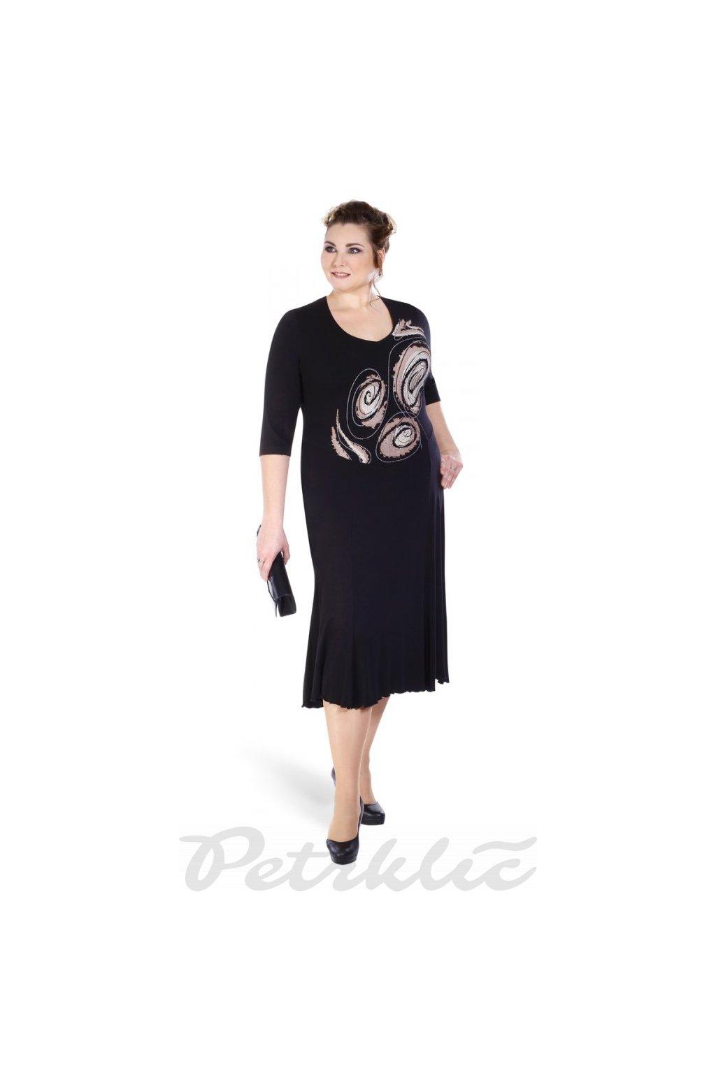 BETA - šaty krátký rukáv 110 - 115 cm