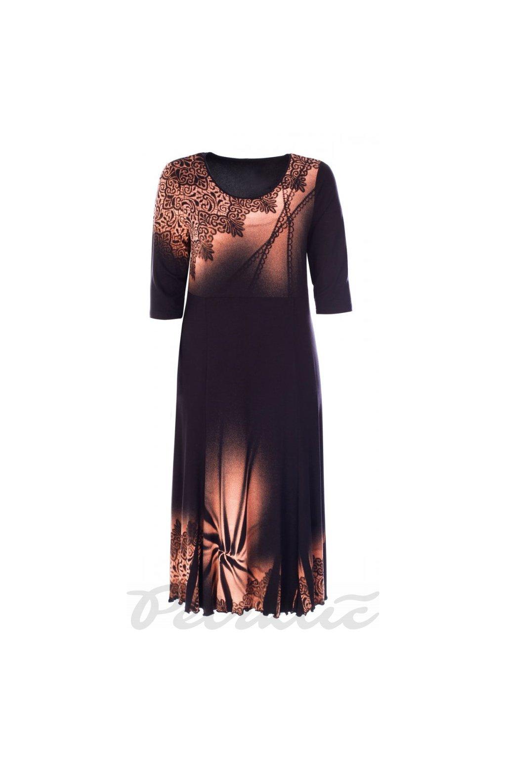 MARYLA - šaty 3/4 rukáv 120 - 125 cm