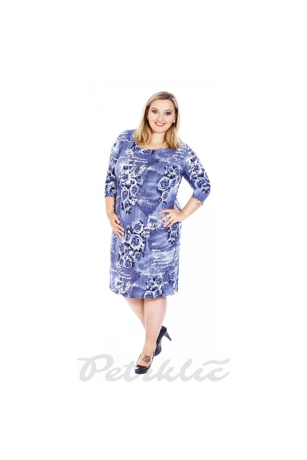 VALA - šaty 3/4 rukáv 100 - 105 cm