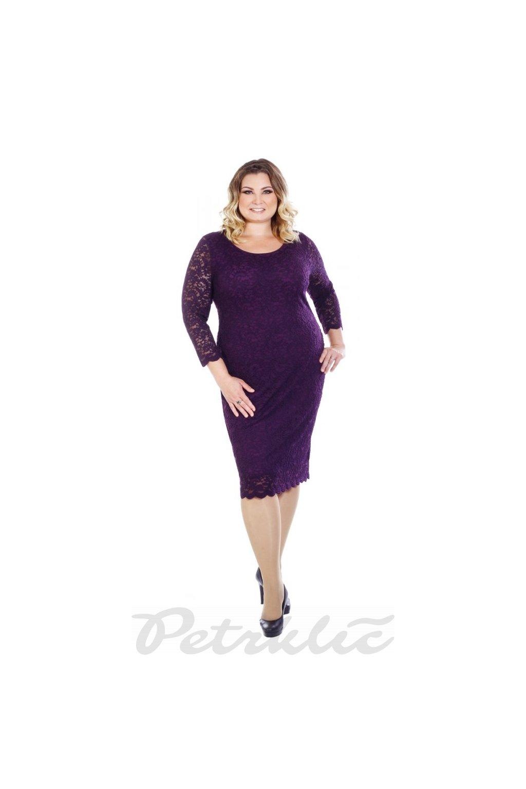 TAMARA - šaty 3/4 rukáv 110 - 115 cm