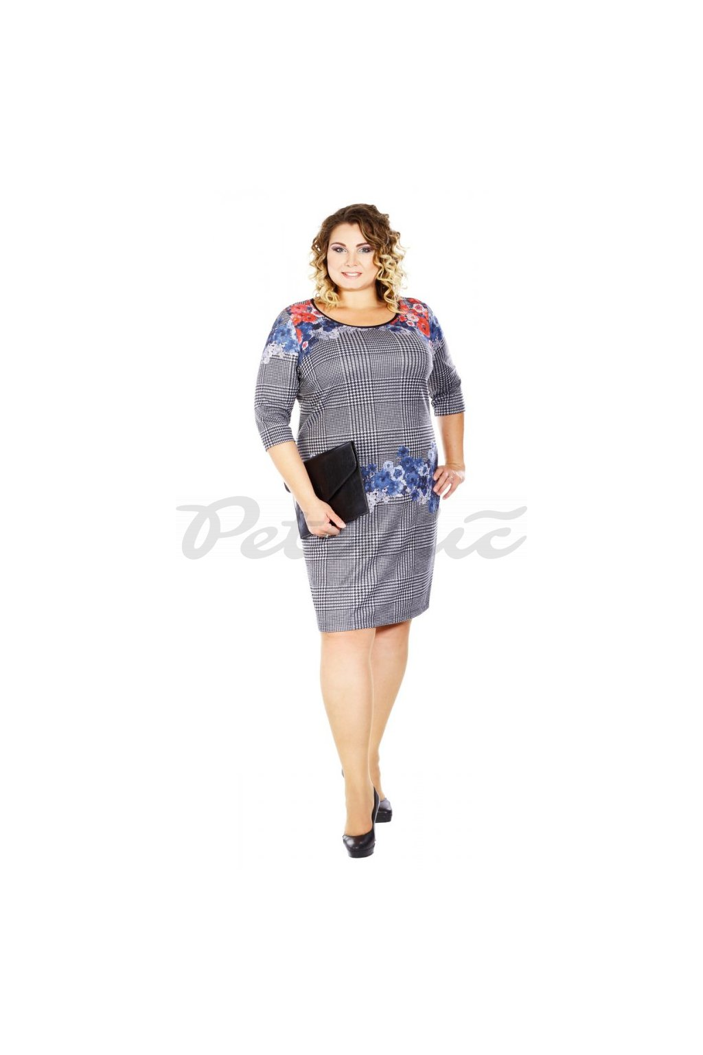 TRENDY - šaty krátký rukáv
