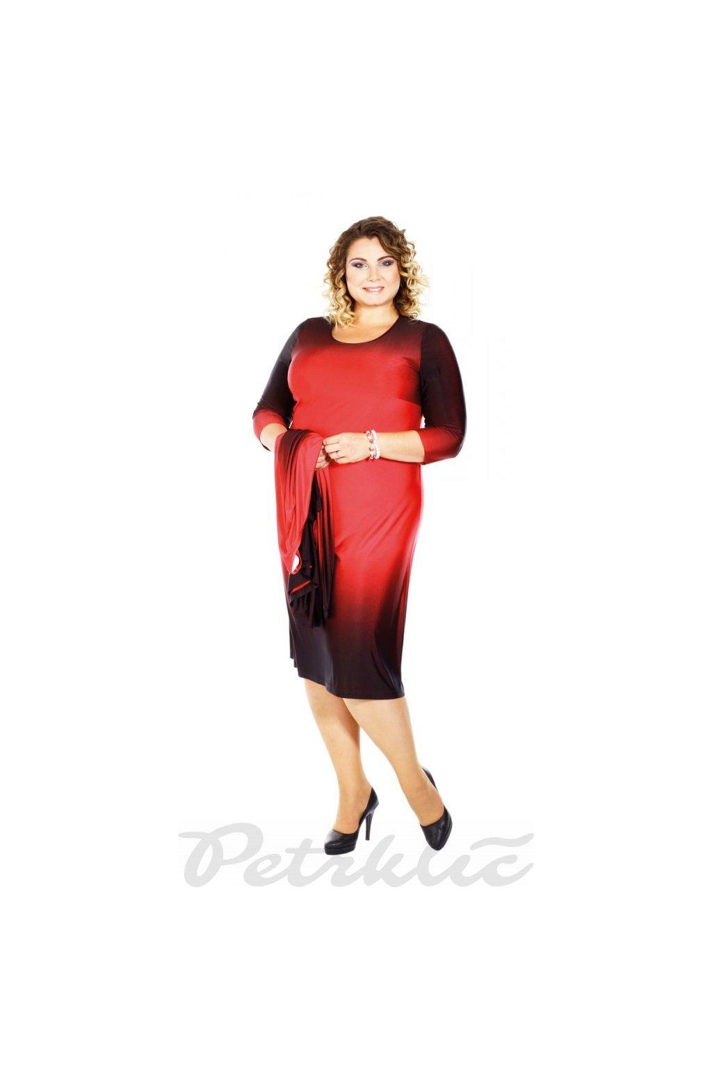 MENY - šaty 3/4 rukáv 120 - 125 cm