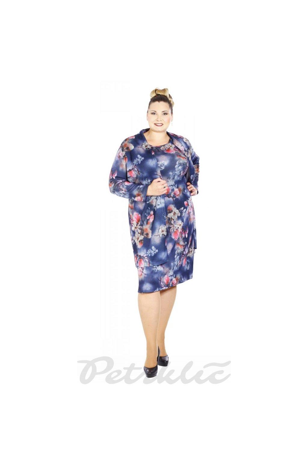 MAGNOLIE - šaty krátký rukáv