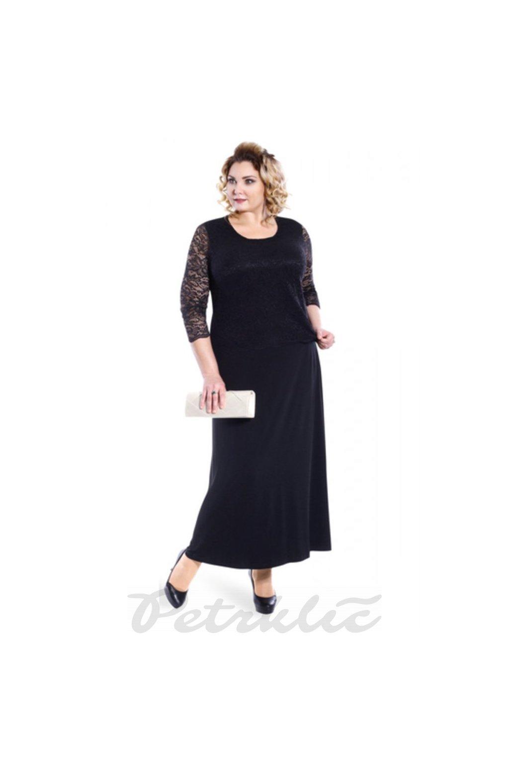 KOMETA - šaty 110 - 115 cm, 3/4 rukáv.