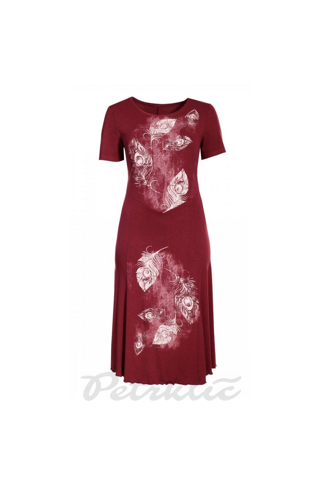 MIJA - šaty 110 - 115 cm, kr. rukáv