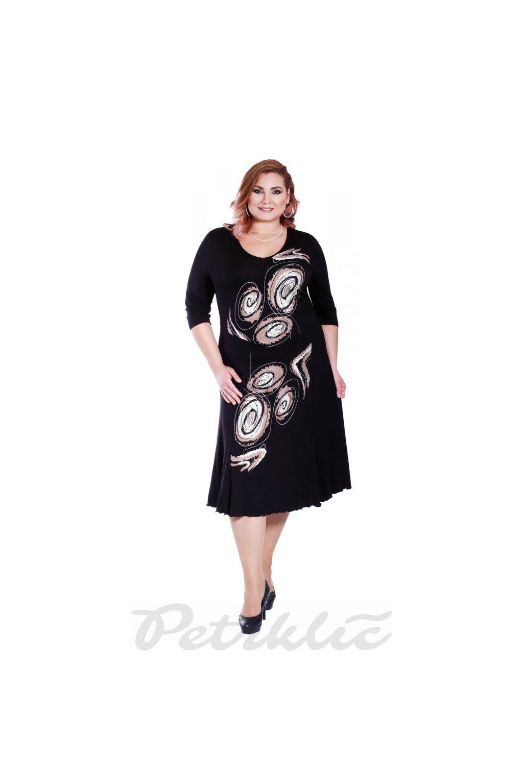 KADERA - šaty 3/4 rukáv 120 - 125 cm