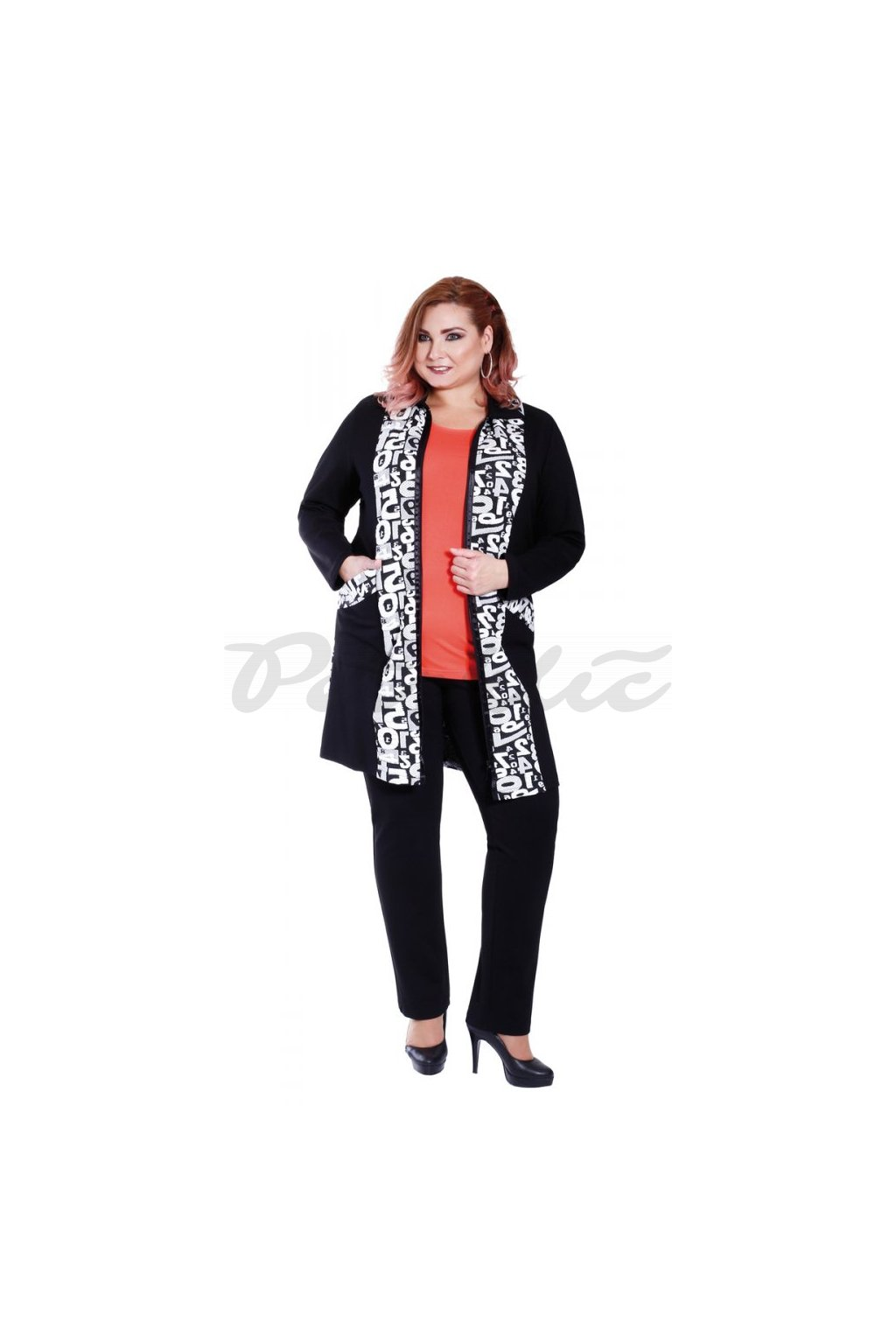 Módní kabátek 90 - 95 cm