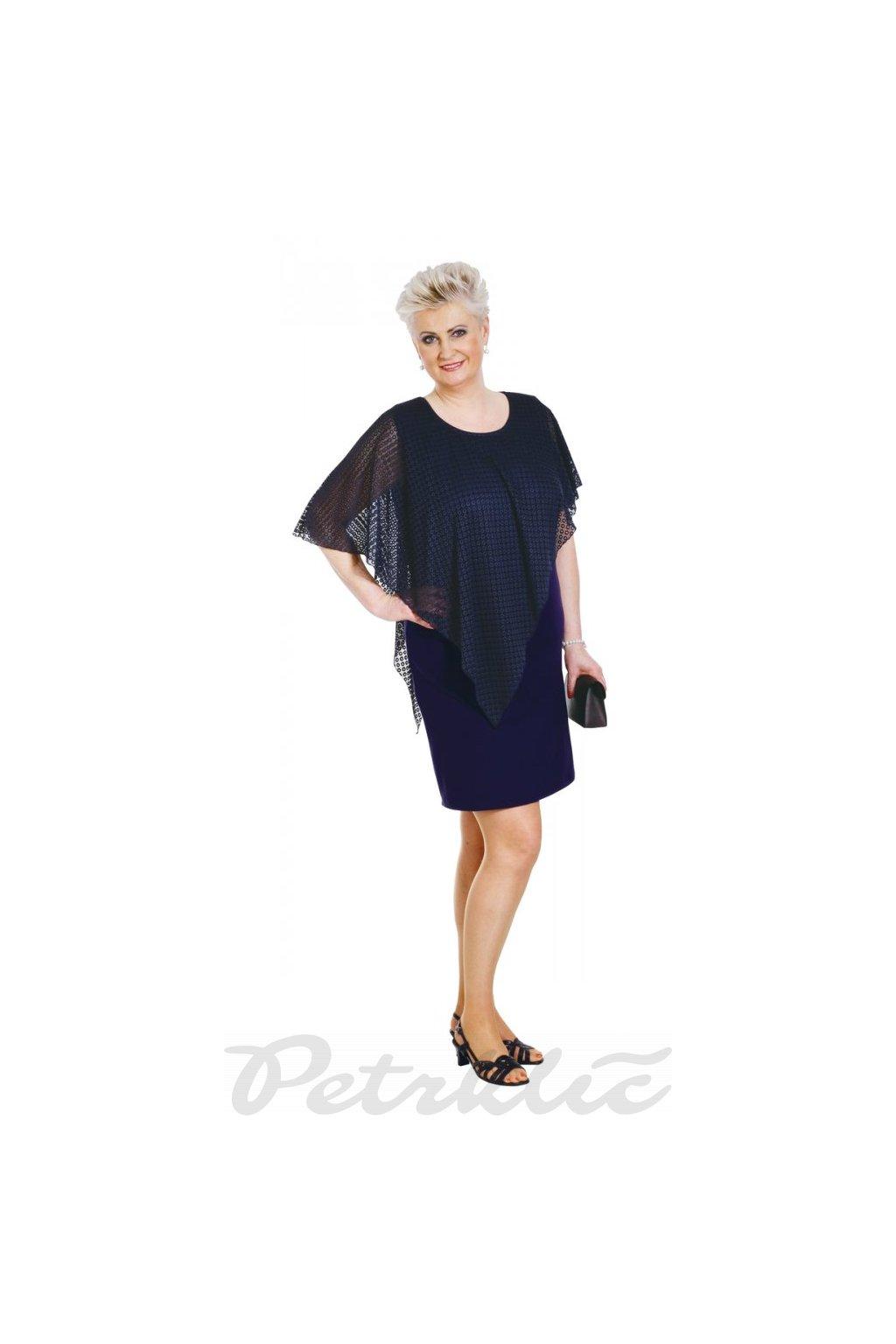 ANNA - šaty s krajkou 95 - 100 cm