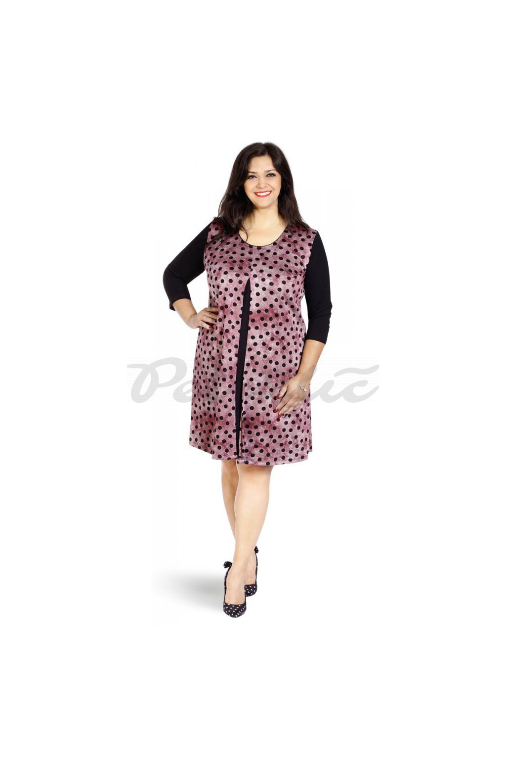 ANDA - šaty dlouhý rukáv 100 - 105 cm