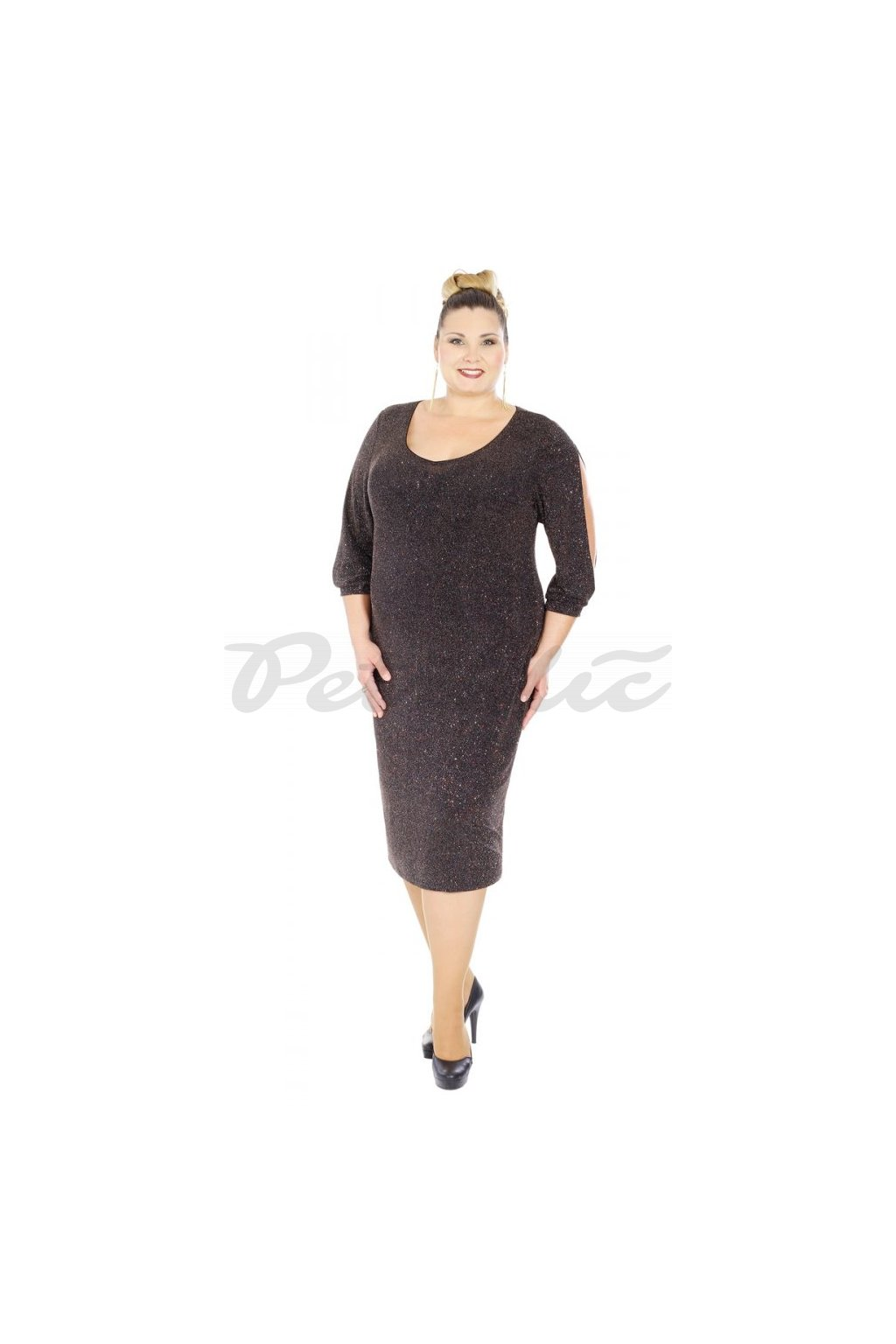 MANKA - plesové šaty 95 - 100 cm