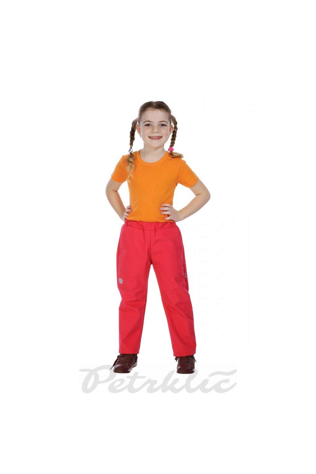 KLASIK dětské softshellové kalhoty