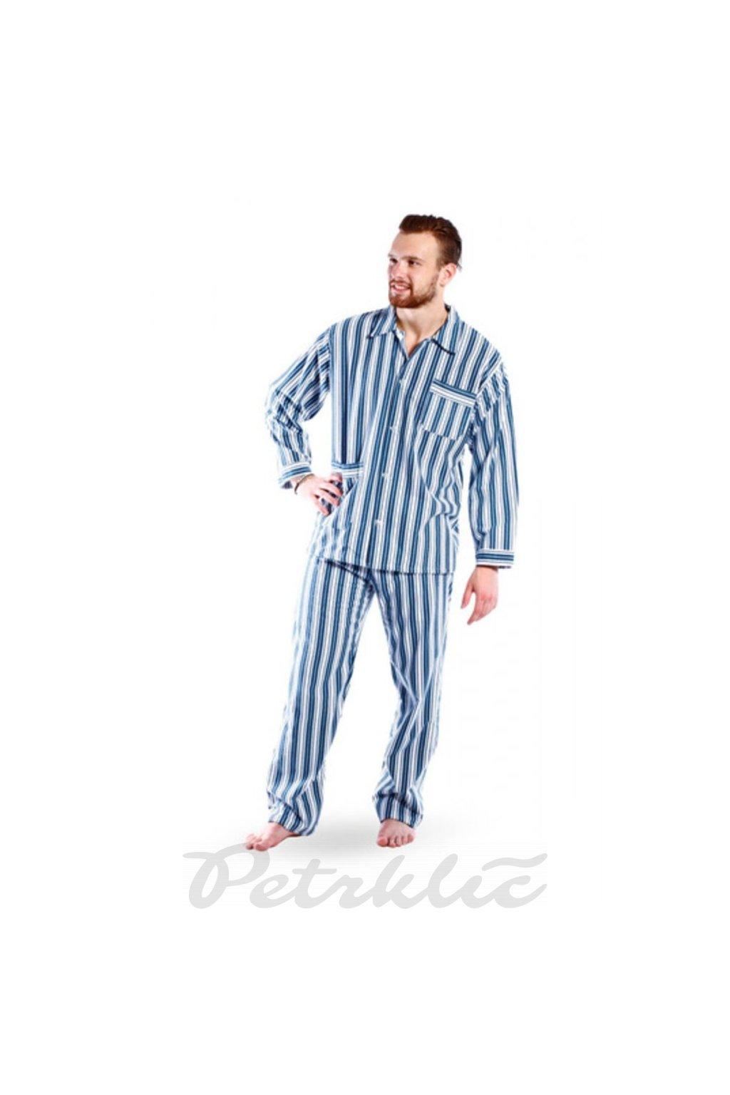 Pánské pyžamové kalhoty, flanel