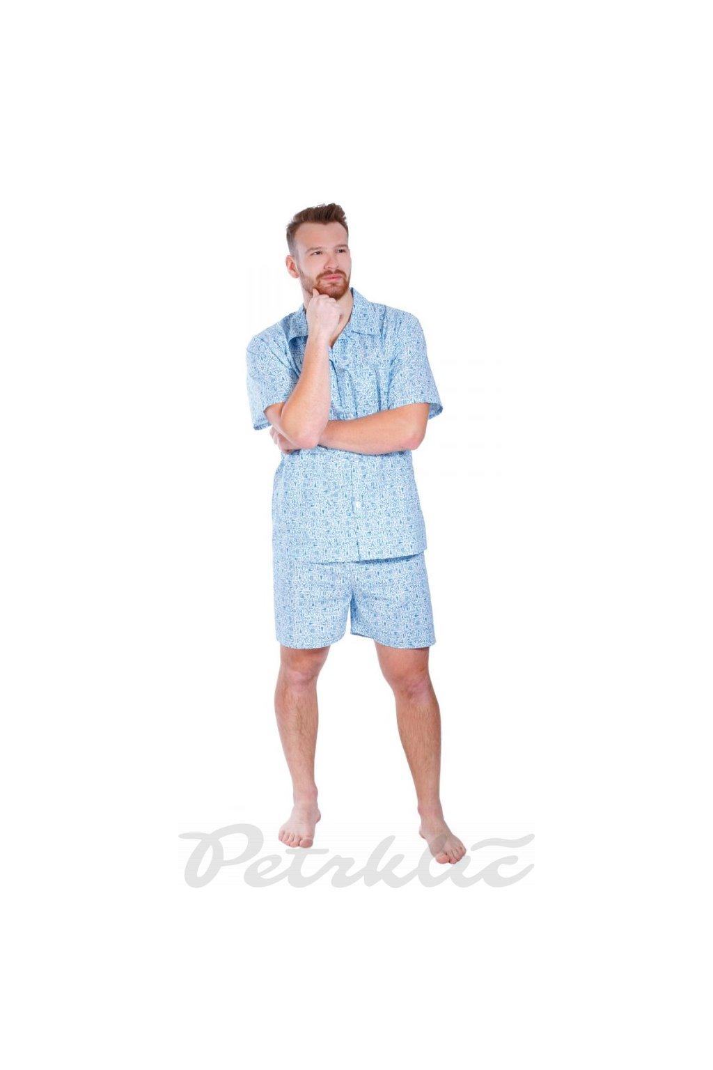 Pánské krátké pyžamo