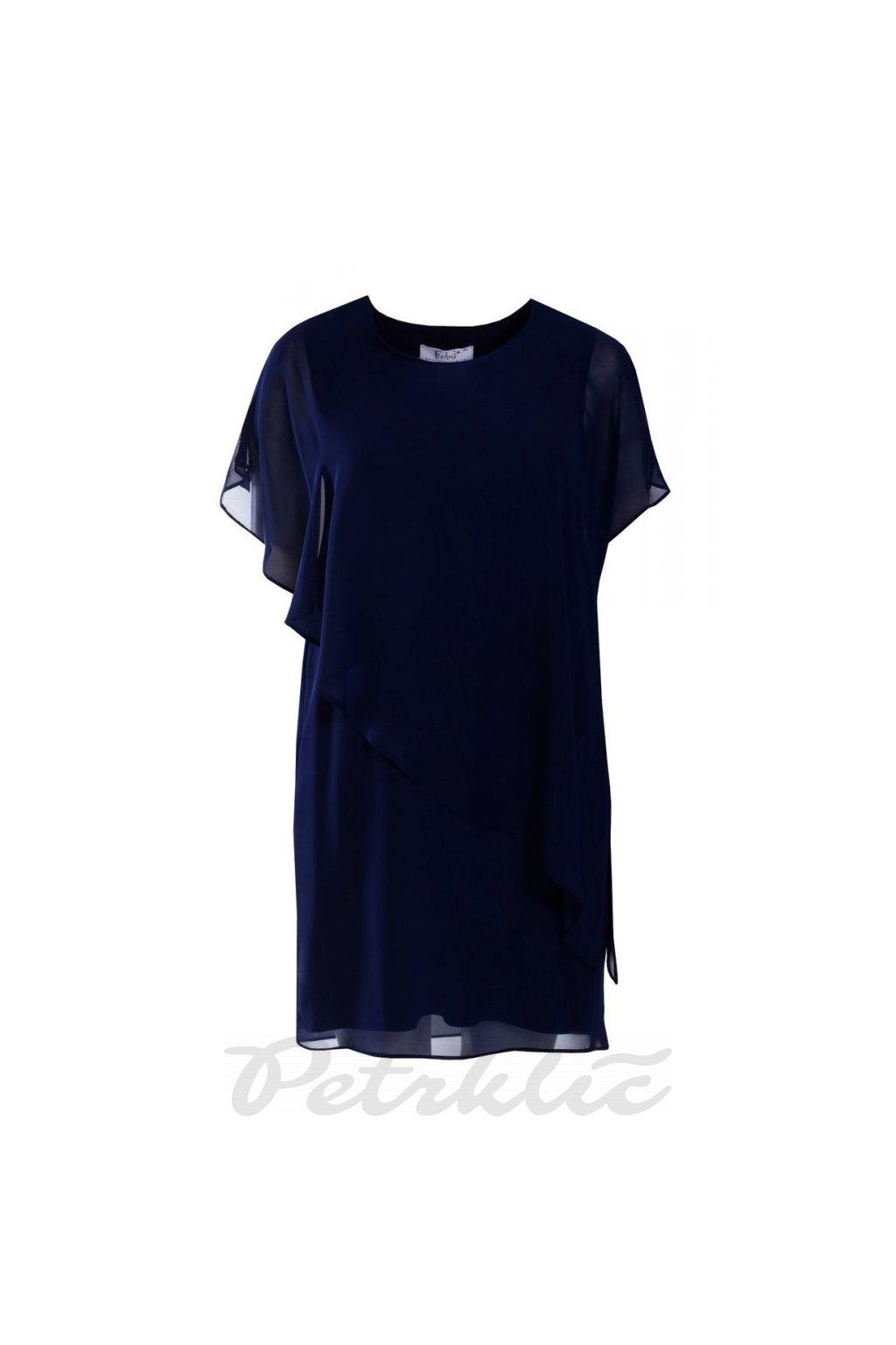 SÁVA - vrstvené šifónové šaty