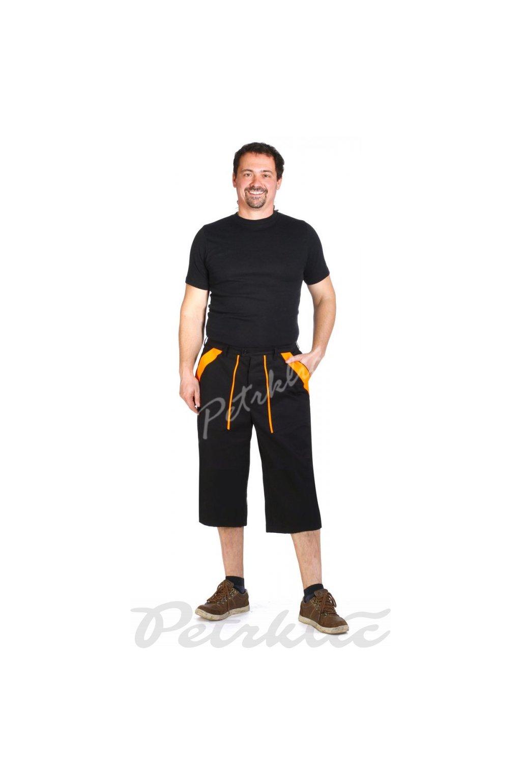 Montérkové 3/4 kalhoty