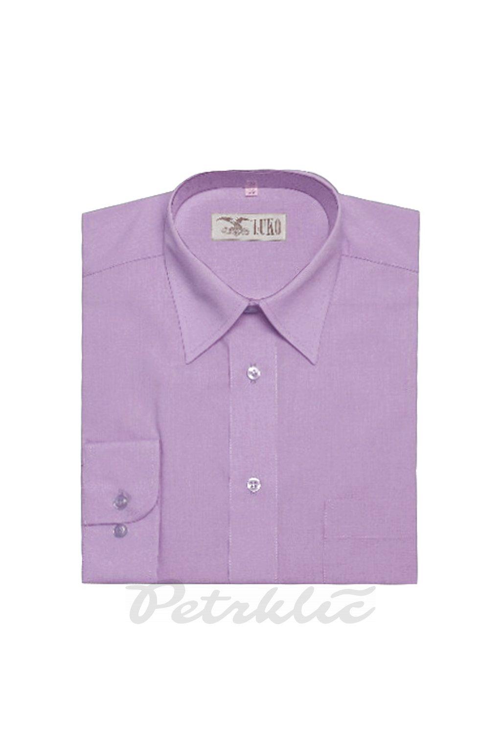 Pánská košile krátký rukáv - 1:1 bavlna a polyester