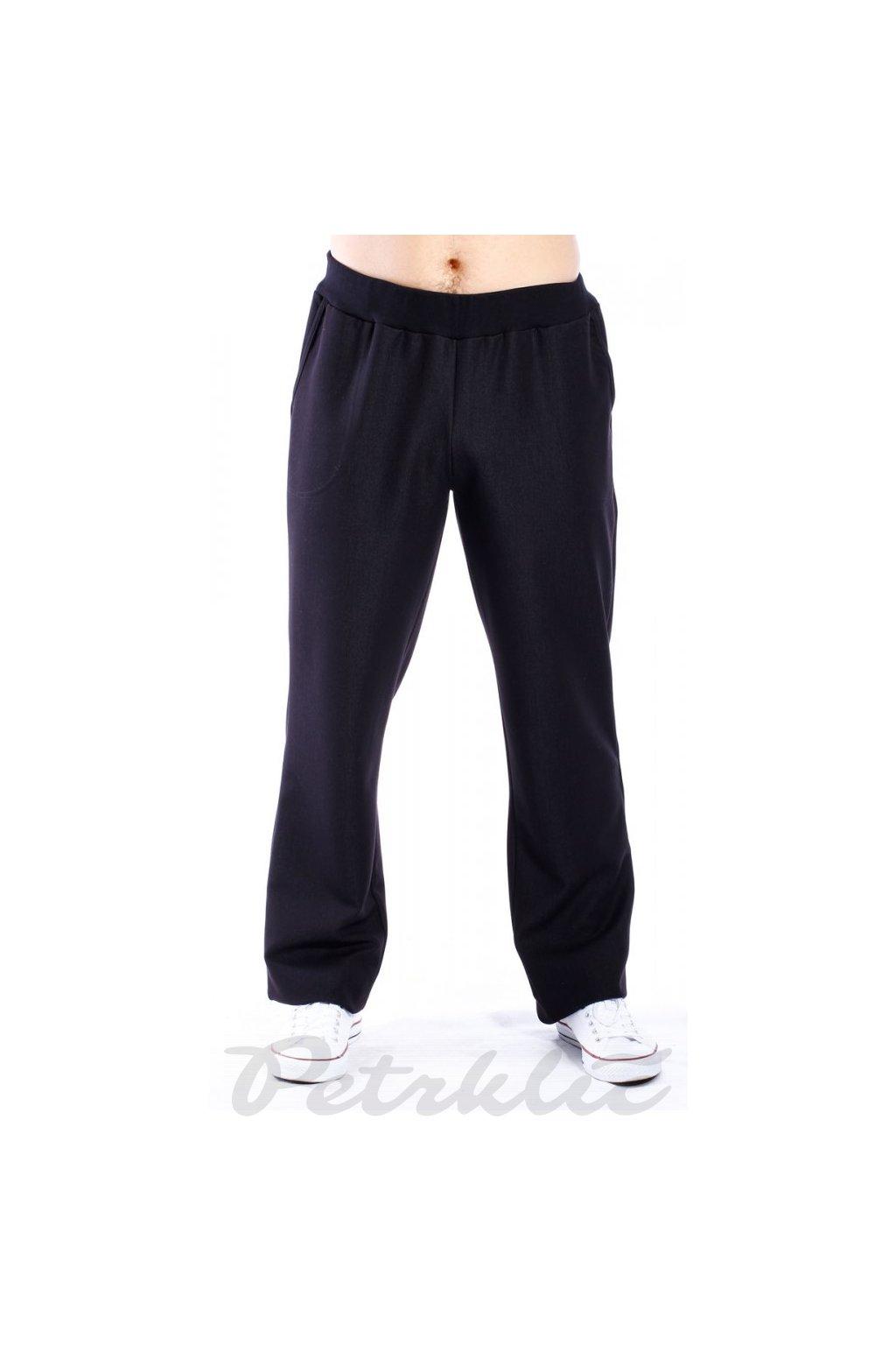 Pánské softshellové kalhoty – pas do úpletu s gumou