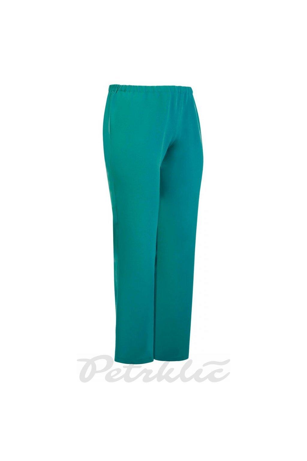 ŠIMON - kalhoty 95 - 100 cm zelený tyrkys   vel. 38