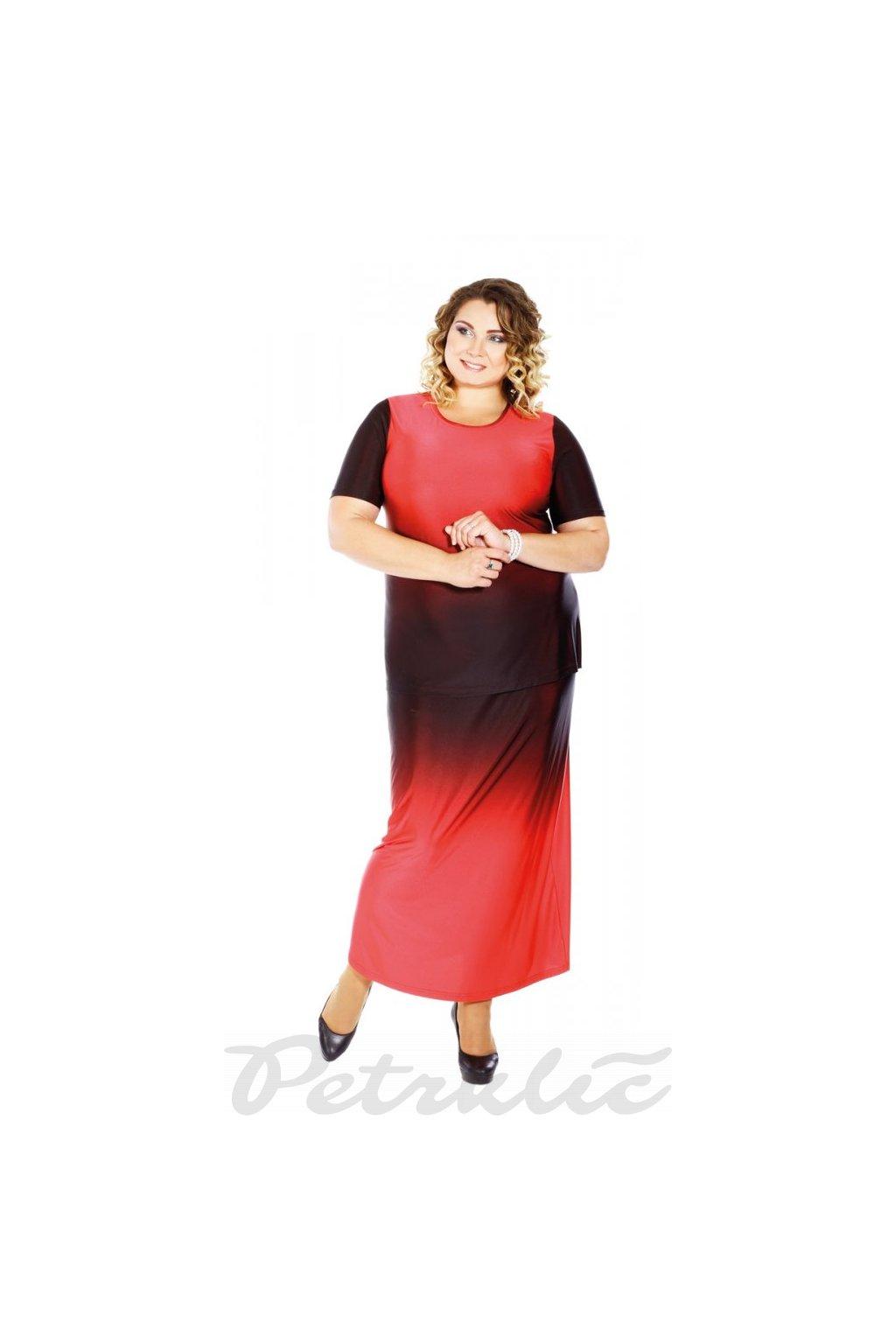 DUHA - sukně v délce 90 - 95 cm
