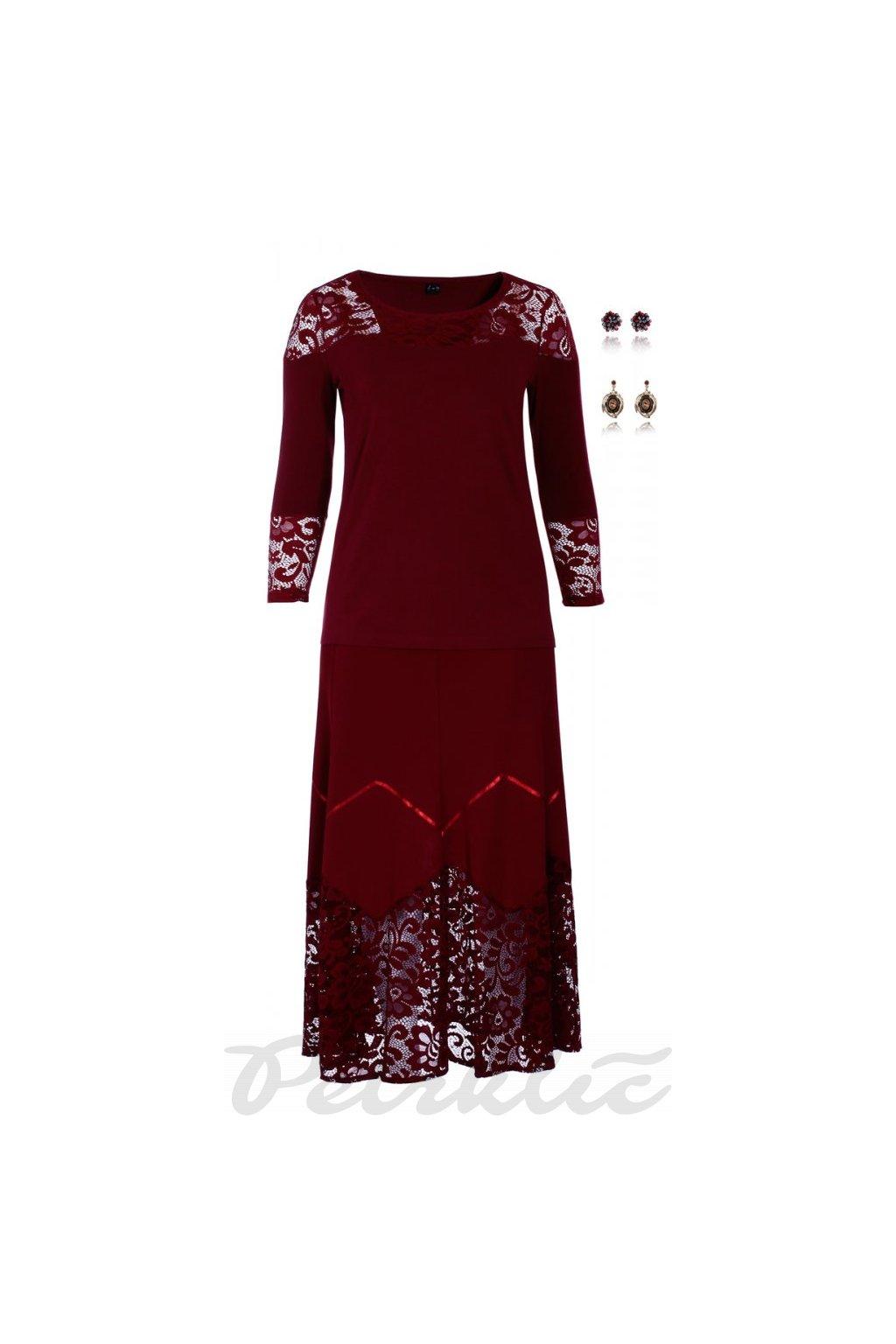 PAMELA společenská dílová sukně 90 cm - 95 cm