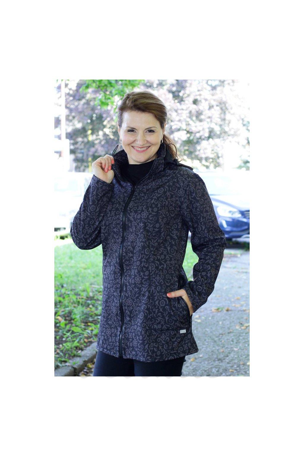 ELRIANA - softshellová bunda s odepínací kapucí