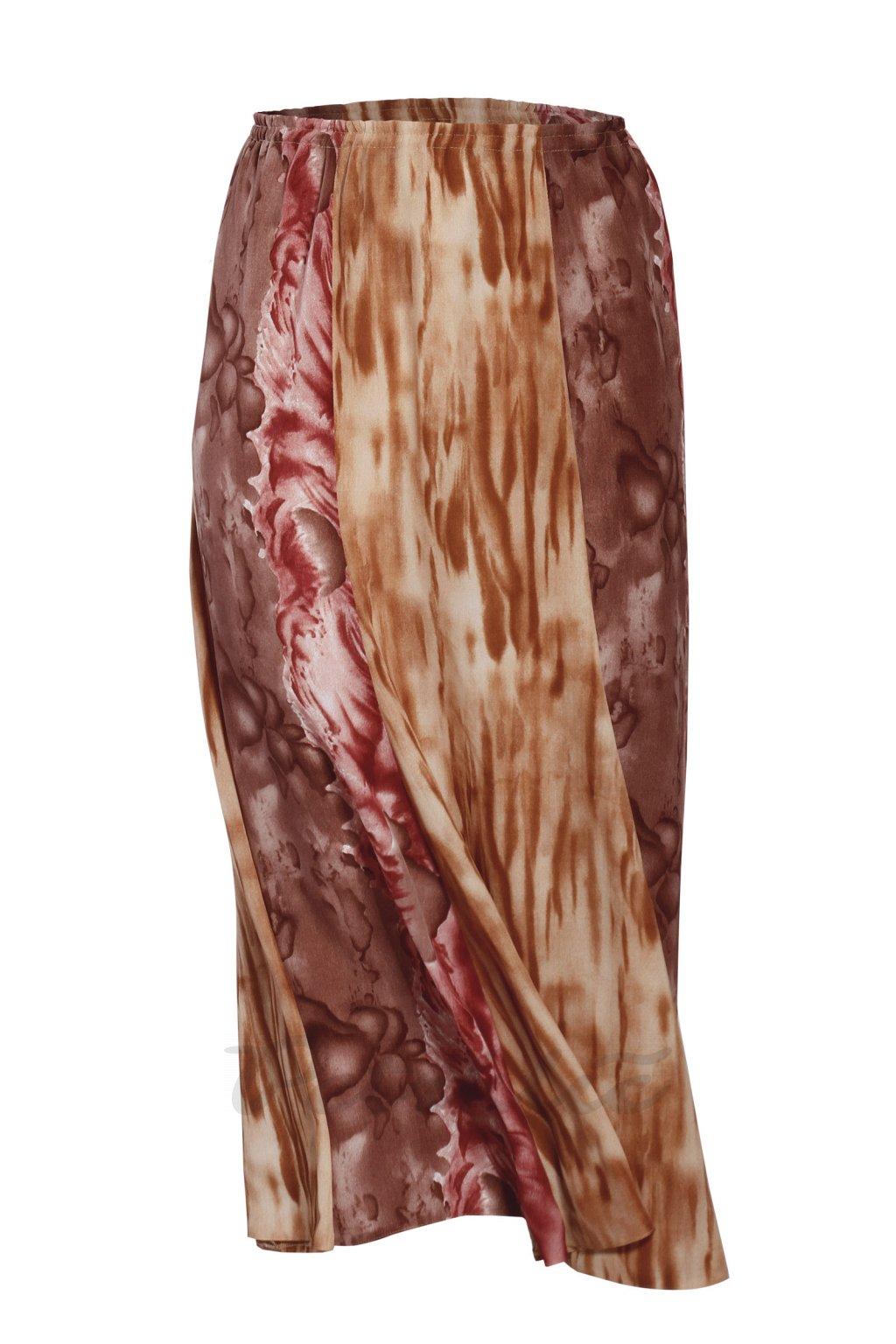 KLÁRA šestidílová maxi sukně