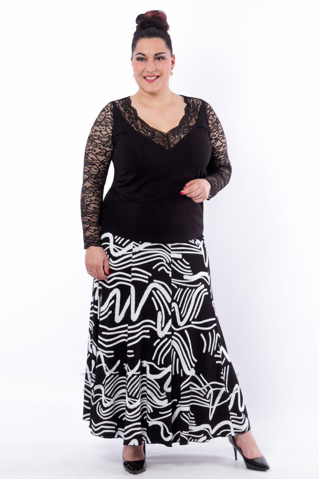 Černobílá sukne pro web2