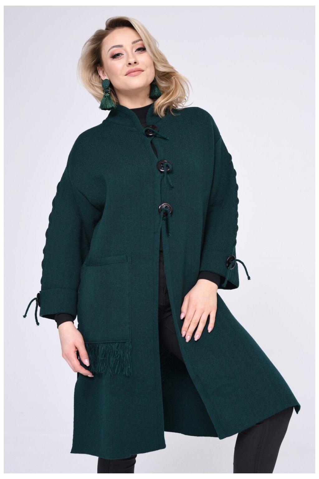 Dámský kabát na knoflíky, model 140427 Vitesi