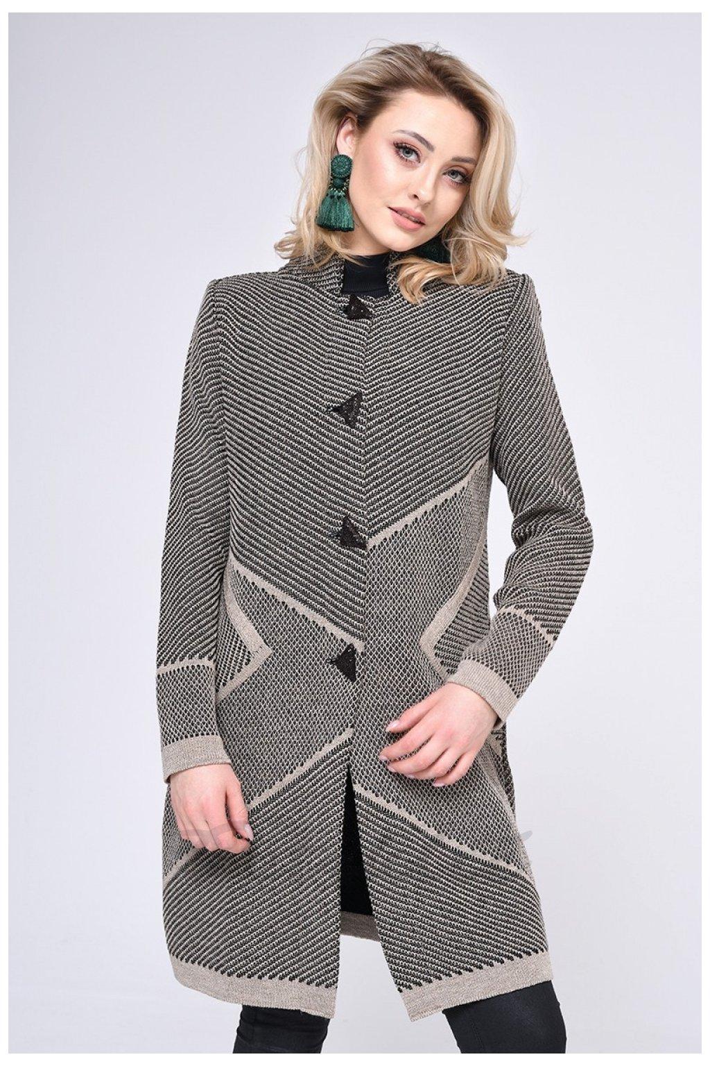 Dámský klasický kabát, model 140436 Vitesi