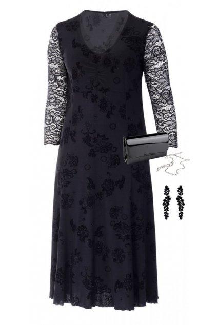ZLATUŠE černé šaty - ve třech délkách