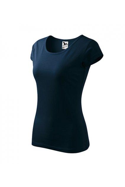 Dámské 100% bavlněné tričko Pure