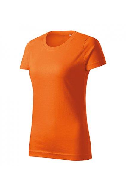Dámské tričko ze 100% bavlny Basic Free