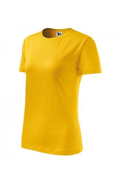 Dámské tričko ze 100% bavlny Classic New