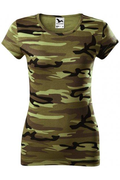 Maskáčové tričko - dámské Camo Pure