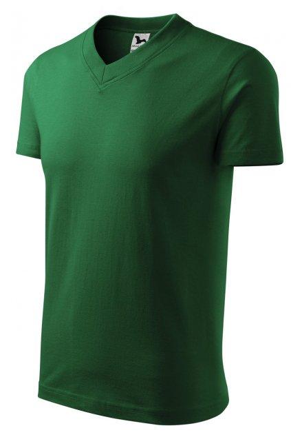 111 v neck heavy triko zelené