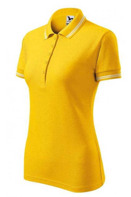 dámská polokošile urban žlutá