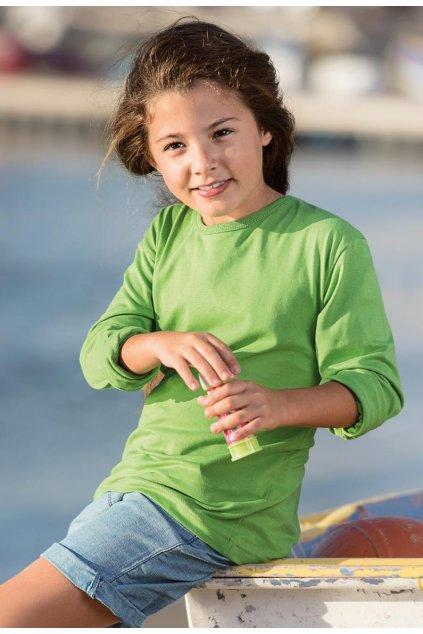 Dětské bavlněné tričko s dlouhým rukávem Fit T LS