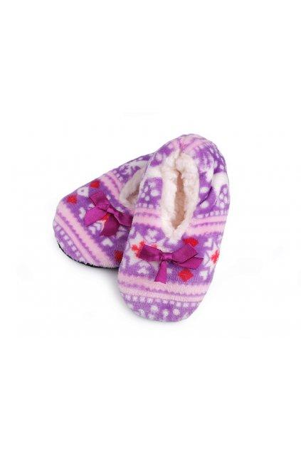 Dětská zimní domácí obuv s protiskluzem,  L9290620