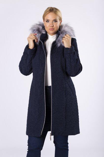 Podzimní až zimní bunda v dekorativním proševu