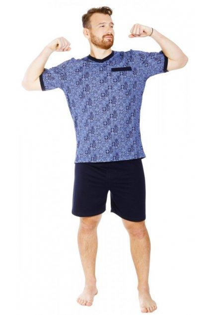 PAVLIK - pánské krátké pyžamo z bavlny