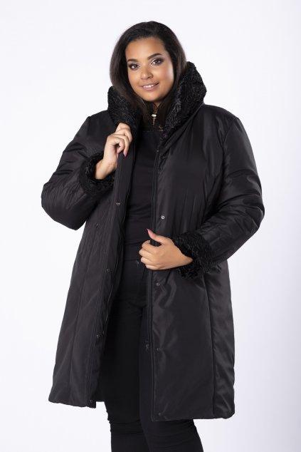 Dlouhá zimní bunda s kapucí 101 - 104 cm M80922
