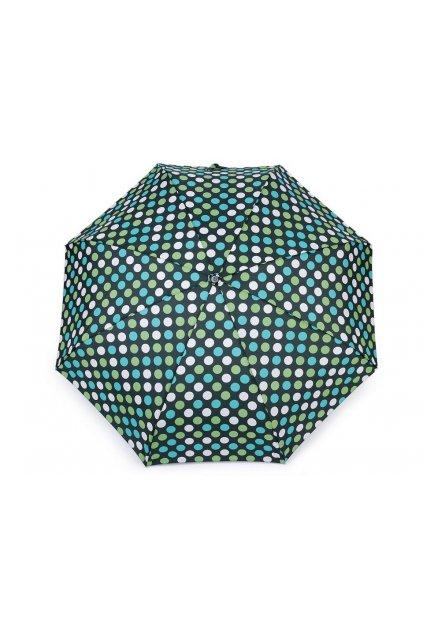 Dámský mini skládací deštník puntík L9530990