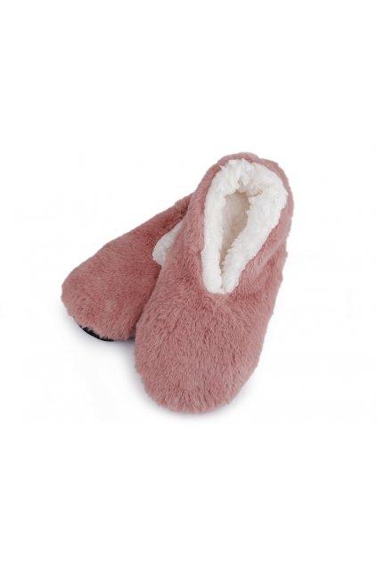 Dámská zimní domácí obuv s protiskluzem L9290622