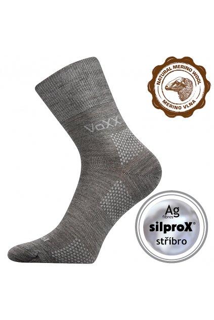 ponožky Orionis ThermoCool - světle šedá