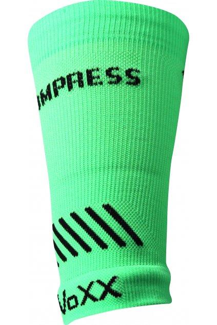 kompresní návlek Protect zápěstí - neon zelená