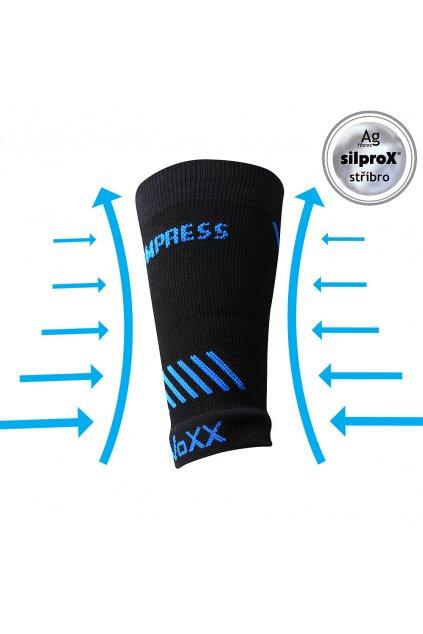 kompresní návlek Protect zápěstí - černá