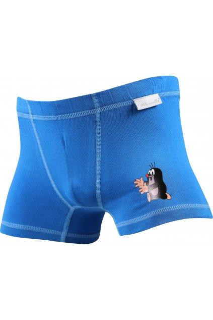 boxerky KR 003 boxerky chlapecké - modrá
