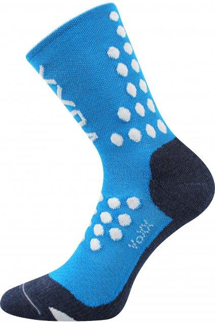 kompresní ponožky Finish - modrá