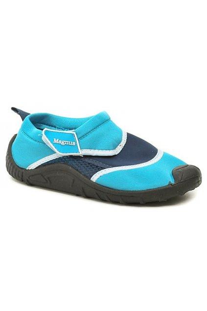 Magnus 44-0821-T6 modrá dětská obuv do vody